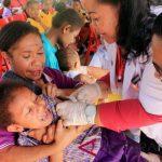 Papua Barat Capai Cakupan Tertinggi Imunisasi MR