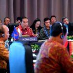 Presiden Jokowi Buka dan Pimpin ASEAN Leaders' Gathering Bersama PM Singapura