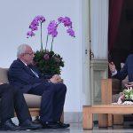 Presiden Jokowi Menerima Kunjungan Kehormatan Menlu Palestina