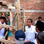 Presiden Jokowi Tinjau Pembangunan RISHA di Lombok