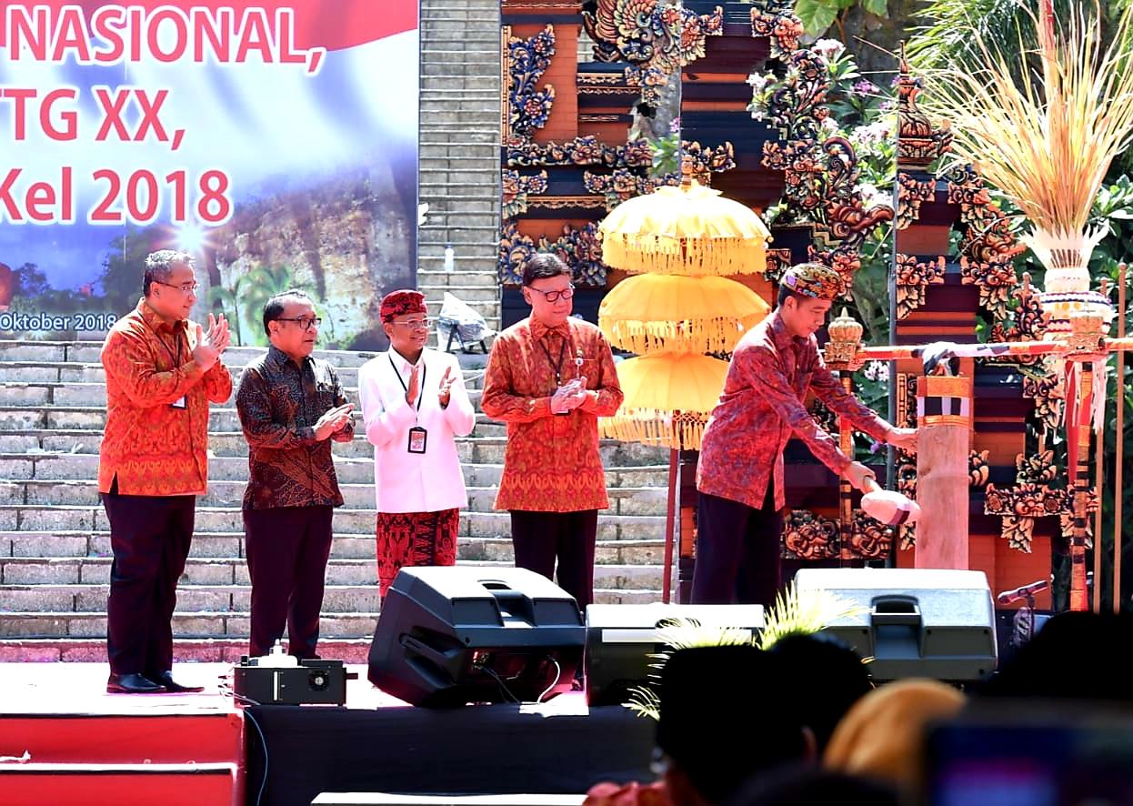 Presiden Jokowi Resmikan Temu Karya Nasional Teknologi Tepat Guna di Bali, Ingatkan Pentingnya Inovasi Manajemen Pemerintahan