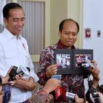 Presiden Jokowi Minta Sutopo BNPB Tetap Jadi Inspirasi