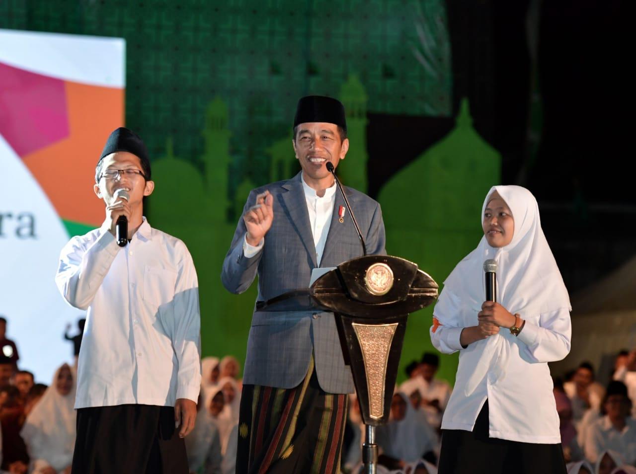 Presiden Jokowi Ingin Hadirkan BLK di Pesantren untuk Berdayakan Para Santri
