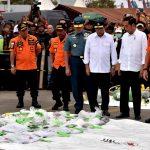 Presiden Jokowi Tinjau Posko Evakuasi Lion Air JT-610 di Tanjung Priok