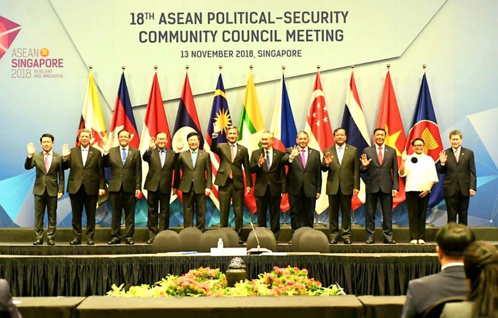 Pimpin Delegasi Indonesia di Pertemuan APSC, Menko Polhukam Sampaikan Tiga Hal Penting yang Dibahas
