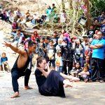 Seniman Mancanegara Ramaikan Pertunjukan Seni Budaya di Obyek Wisata Goa Selomangkleng