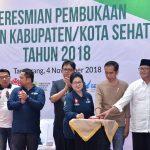 Hadiri Pembukaan Pertemuan Kabupaten/Kota Sehat Ke-4, Presiden Soroti Gaya Hidup Masyarakat