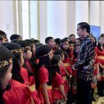 Presiden Jokowi Ajak Masyarakat Belajar Toleransi Dari Paduan Suara