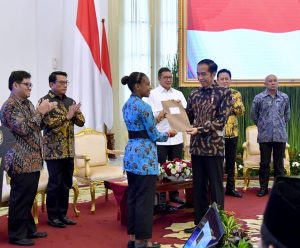 Presiden Jokowi Apresiasi Peran Aktif Generasi Milenial Promosikan Perdamaian