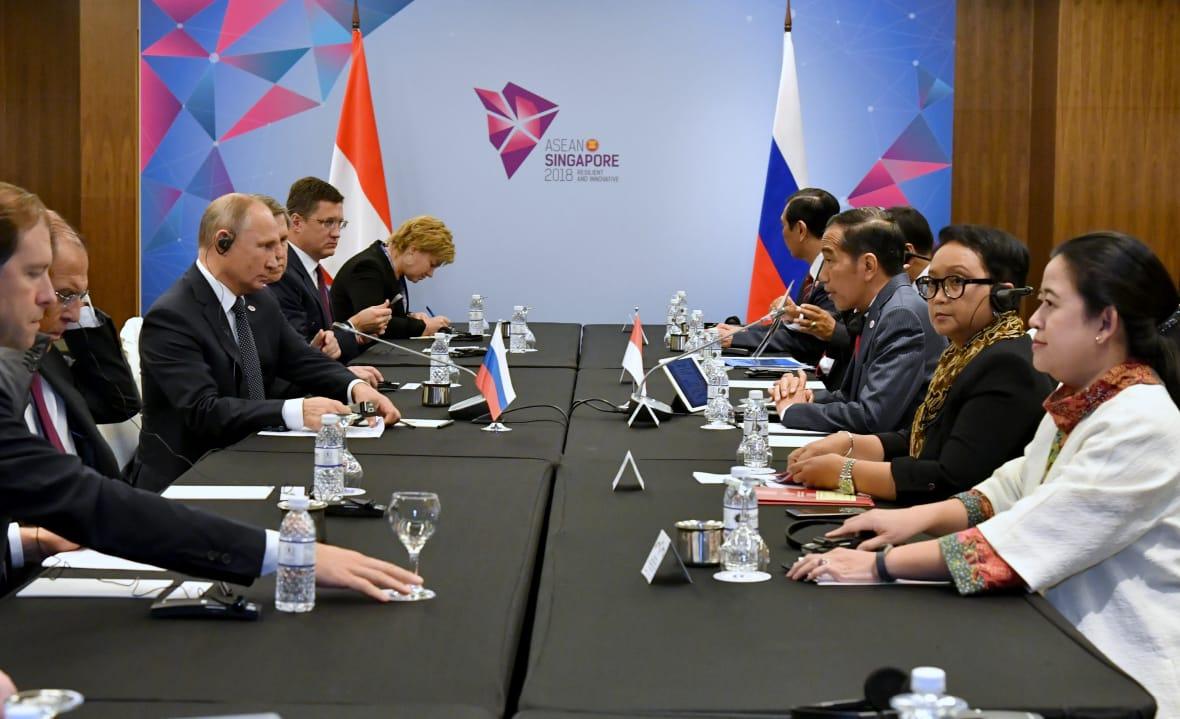 Indonesia dan Rusia Bahas Peningkatan Kerja Sama Ekonomi