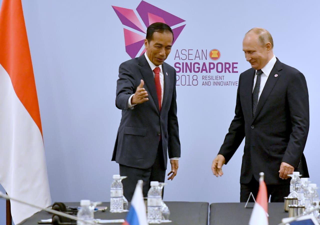 Indonesia Dorong ASEAN dan Rusia Perkuat Kerja Sama Berbagai Bidang