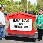 Presiden Jokowi Kunjungi Lokasi Rencana Pembangunan PLBN Sota di Merauke