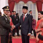 Presiden Jokowi Lantik Andika Perkasa Sebagai KSAD