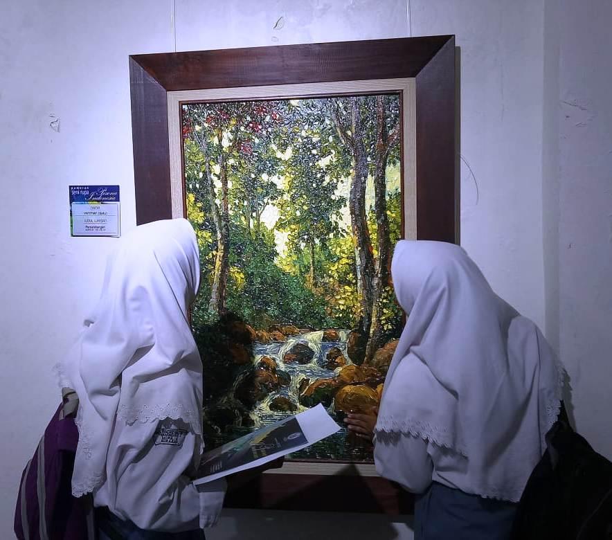 40 Lukisan Pesona Indonesia Hadir di Taman Budaya