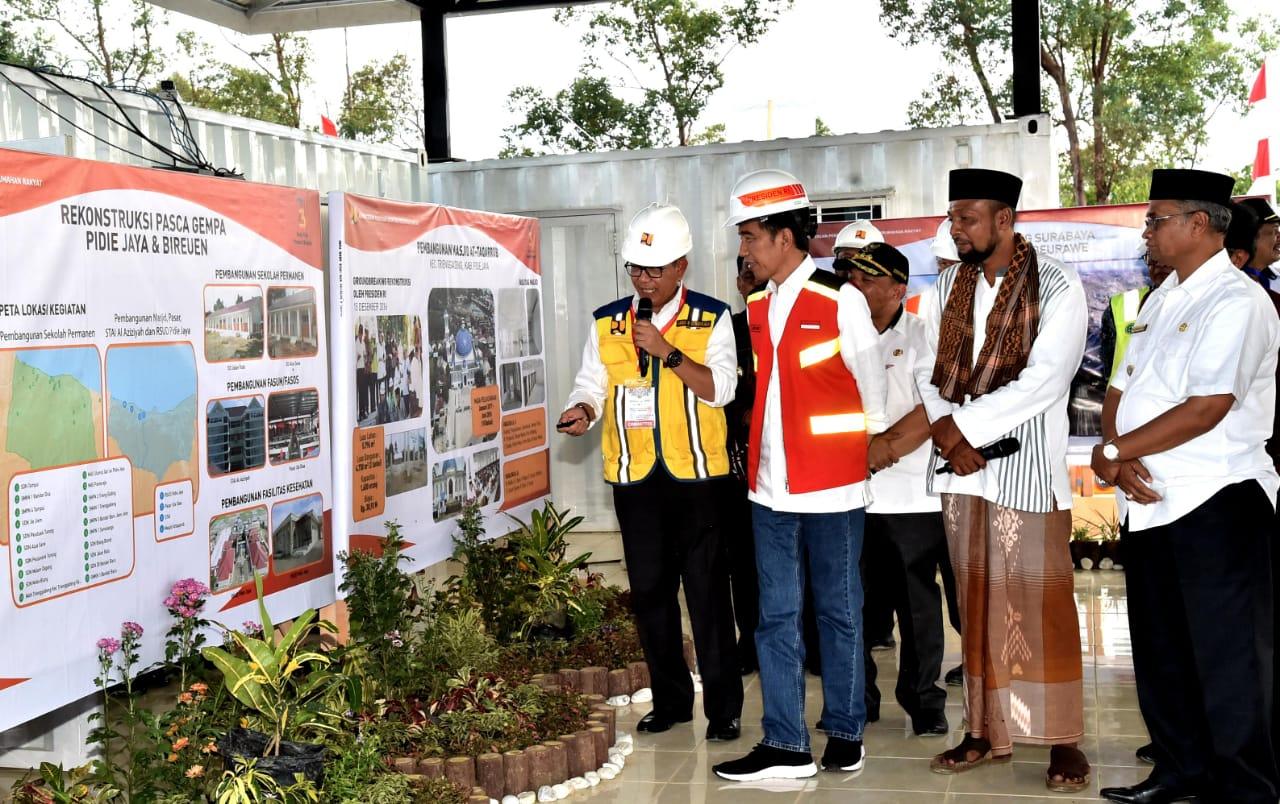 Presiden Memulai Pembangunan Tol Pertama di Aceh