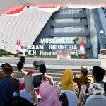 Presiden Jokowi Resmikan Museum Islam Indonesia K.H. Hasyim Asy'ari