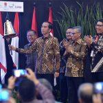 Tutup Perdagangan Bursa 2018, Presiden Jokowi : Kinerja IHSG Sesuai Target