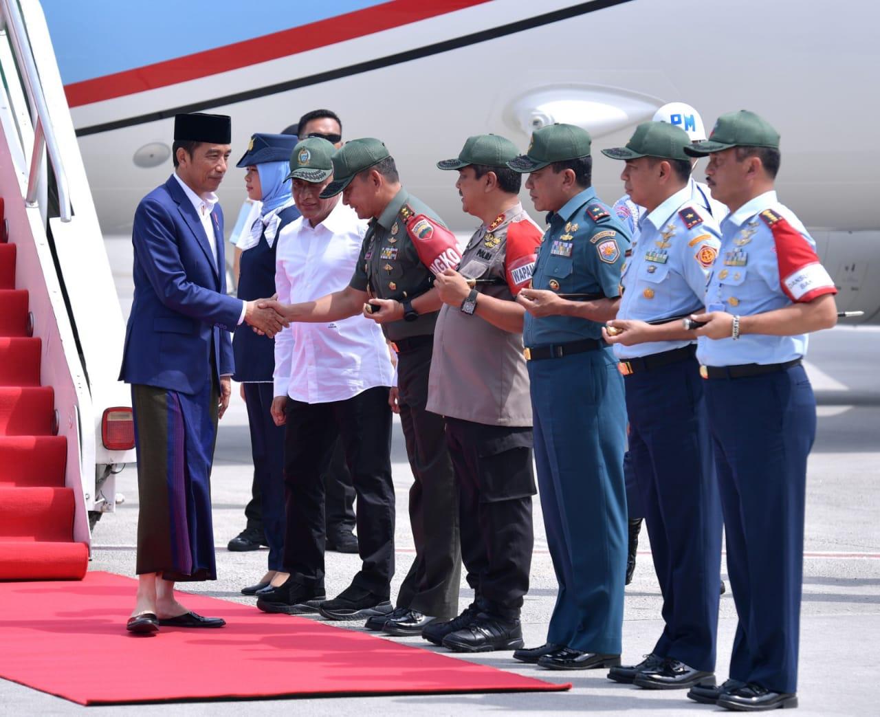 Presiden Kunjungi Kabupaten Langkat di Sumatra Utara