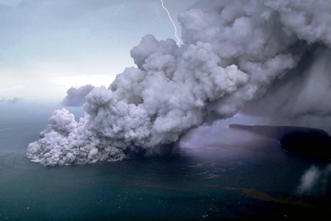 Rentan Longsor Vulkanik  Susulan, Masyarakat Diminta Jauhi Pesisir