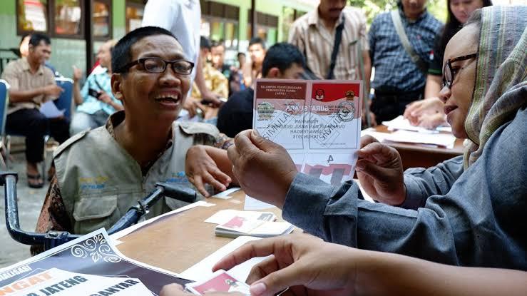 3.650 Pemilih Penyandang Disabilitas Pemilu 2019 di Surabaya