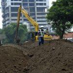 Butuh Waktu Tiga-Empat Hari untuk Pengurukan Jalan Ambles di Gubeng Surabaya