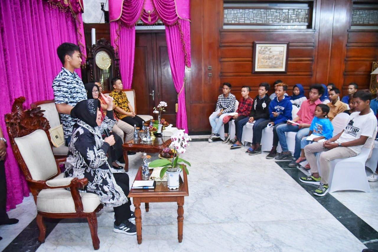 DP5A Surabaya Bina Puluhan Anak Putus Sekolah