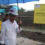 Presiden Jokowi Tinjau Pembangunan Normalisasi Sungai Bogel