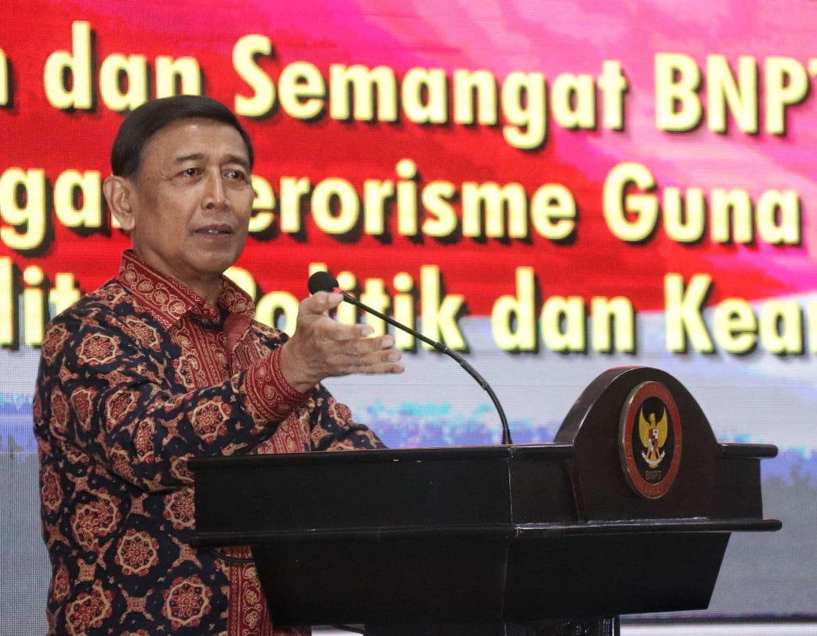 Menko Polhukam Bersinergi Bersama BNPT Lawan Terorisme