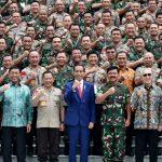 Jokowi Pastikan Adanya Restrukturisasi TNI