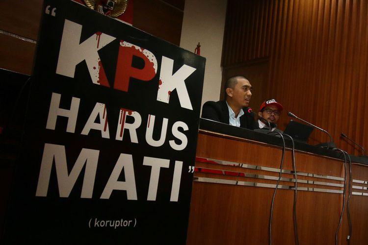 Teror Tak Surutkan Semangat KPK Memberantas Korupsi