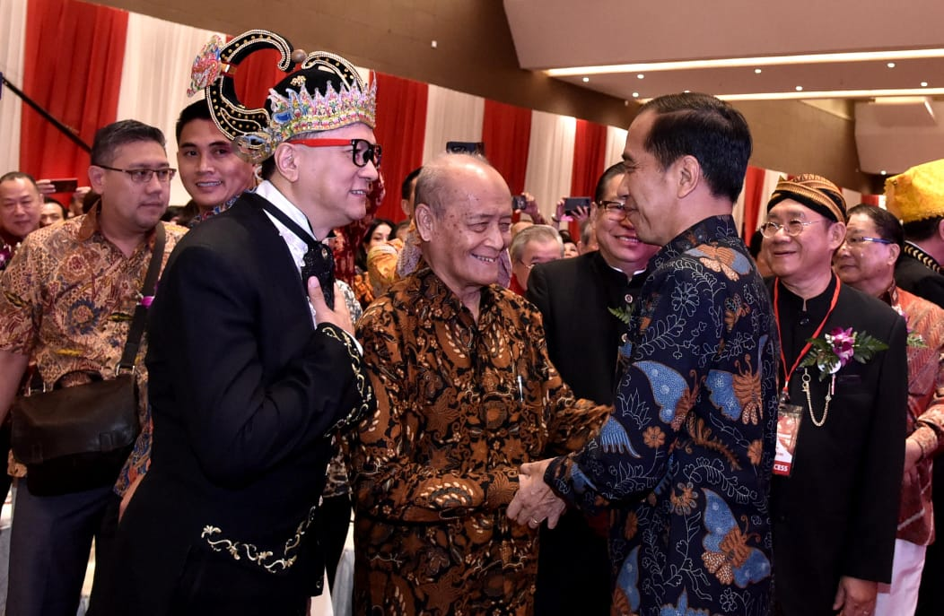 Imlek Nasional, Presiden Ingatkan Jaga Persatuan dan Kerukunan