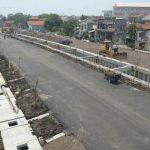 Pembangunan Jalan MERR Gunung Anyar Surabaya Molor