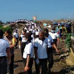 Hari Peduli Sampah Nasional, Anggota Polresta Kediri Belajar Pilah Sampah