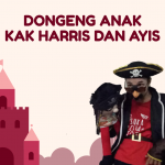Kak Harris dan Ayis Hibur Anak-Anak Kampung Kumuh Surabaya