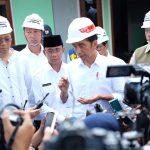 Presiden Pastikan Proses Rekonstruksi Lombok Pascagempa Berjalan Lancar