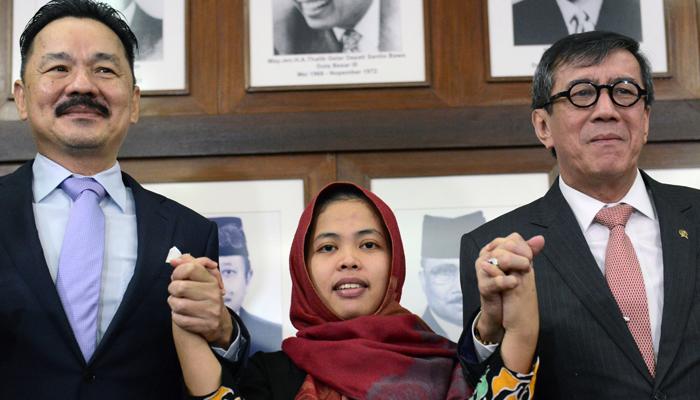 Siti Aisyah, Korban Intelijen Korea Utara