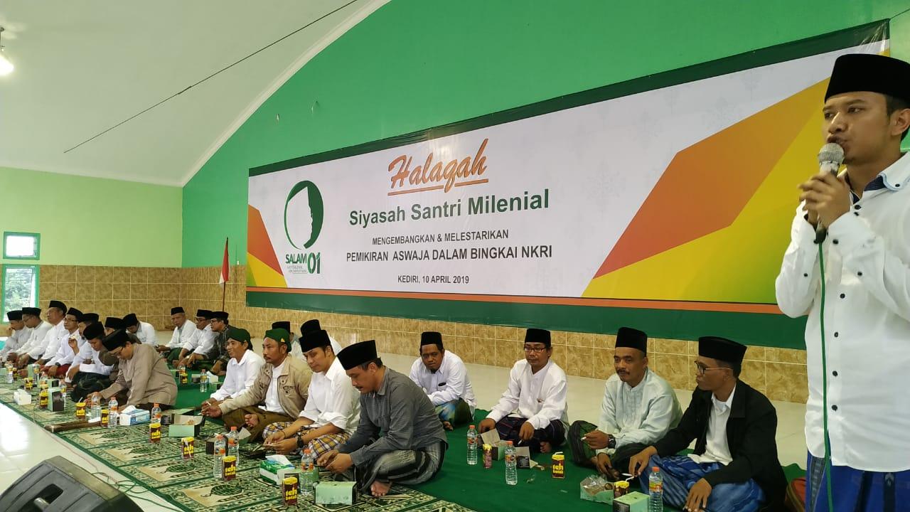 Solidaritas Santri Kediri untuk Jokowi-Amin