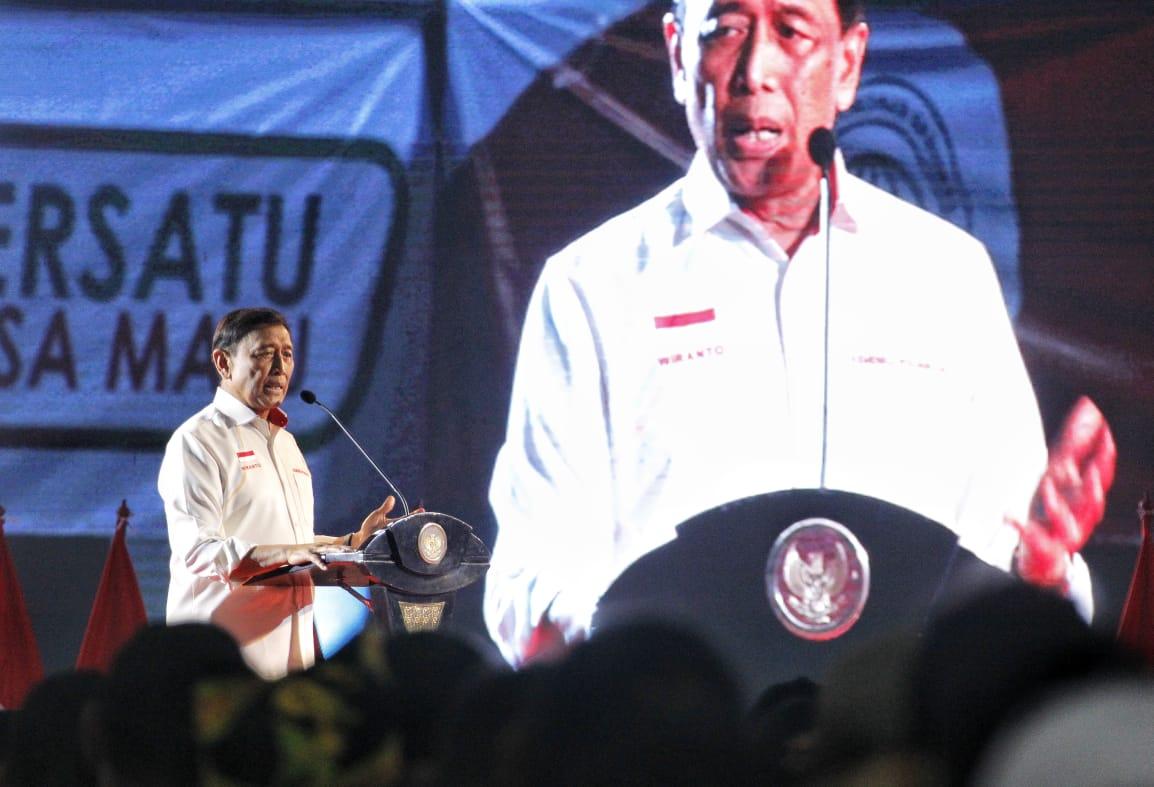 Wiranto Ajak Kepala Desa dan Perangkat Desa Sukseskan Pemilu Serentak