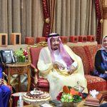 Presiden Bertemu Raja Salman di Riyadh