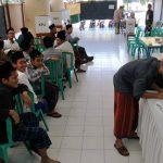 Ribuan Santri Ponpes Lirboyo Gunakan Hak Pilihnya