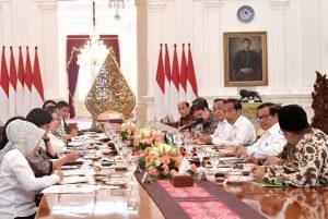 Presiden Gelar Ratas Bahas Hasil Kunjungan ke Arab Saudi