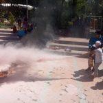 Puluhan Anak SD Surabaya Ikuti Edukasi Bencana