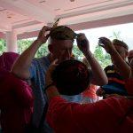 Turis Kapal Pesiar Asal Amerika Kunjungi Surabaya