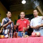 Lintas Agama Rayakan Cap Go Meh di Tambakbayan