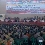 Magetan Gelar Apel 3 Pilar Jelang Pilkada 2018