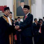 Presiden Lantik Hatta Ali Sebagai Ketua MA