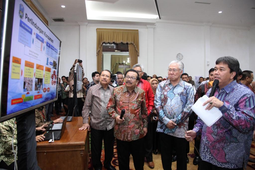 Hadapi Pasar Bebas, Jawa Timur Luncurkan Aplikasi PEPI