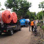Penuhi Kebutuhan Warga Korban Longsor, Pemkab Nganjuk Datangkan Air Bersih