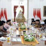 Jokowi Minta Ulama Dukung Program Pemerintah