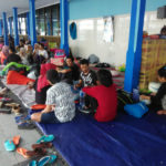 Tagana Dinsos Buka Dapur Umum untuk Pemudik Terlantar di Pelabuhan Tanjungwangi